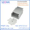 Buy 4 pieces, 50*91*110mm aluminum extrusion enclosure box electroncis new electronic project housing AK-C-C40