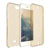 Buy Transparent 360 Full Body Protective Case iPhone 7 Plus Shockproof Back Cover +Front Clear TPU Rubber Touch Bag