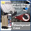 Buy S7 Edge Armor Case Silicon Shockproof Phone Galaxy S6 iPhone 5SE 6S PlusCool Ultra Slim Hard PC Protective Back Cover
