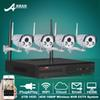 Buy Anran P2P 4CH WIFI NVR Kit Surveillance System 2TB HDD 1080P IP Camera HD 2 Array Weatherproof IR Outdoor Security