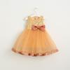 Buy Girls Dress Kids Clothing 2016 Christmas Bling Shiny Fashion Bow Sequins Vest Princess MC-847