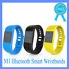 Buy M1 Smart Bracelet Bluetooth Wristbands smart watch Waterproof & Passometer Sleep Tracker Function android ios system DHL free-01