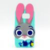 Buy 2016 Zootopia 3D Cartoon Character Cute Judy Soft Silicone Case Samsung Galaxy J7 J5 J3 J2 J1 S6 A5 A510 Note 3 4 5 Animals Rabbit