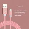 Buy 1m 1.5m Aluminum Nylon USB 3.1 Type C Charger Cable USB-C Data Sync Cabels Samsung Note 7 Nexus 5X LG G5 Huawei p9 Xiaomi mi4c mi5 HTC