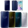 Buy S7 EDGE Newest Luxury Clear View Mirror Flip Electroplating Phone Cases Samsung Galaxy S7Edge Hard Covers s7 Edge Case