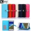 Buy Fashion Plaid Pattern Flip Case +TPU Cover Xiaomi 5 Redmi Note3 Note2 4S 3 Pro Leather