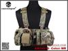 Buy Tactical Vest Left Handed EMERSON UW Gen V Split Front Chest Rig/MR Military Combat Molle Airsoft Hunting Jump Plate Carrier