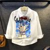 Buy Boys Shirts Children Clothes Kids Clothing 2016 Autumn Long Sleeve T White Shirt Fashion Cotton Tshirt Lovekiss C27346