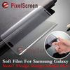 Buy Clear 3D PET Curved Film Screen Protector Samsung Galaxy Note7 S7 edge S6edge Plus TPU Soft Flim tempered Glass