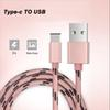 Buy 1M Quality USB C Braided Cable Fast Charging Sync Data Metal Connector Type Nokia N1 Lenovo Zuk Z1 MX5 Pro