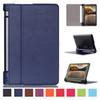 Buy Ultra thin smart PU leather cover case stand 2015 lenovo Yoga tab 3 8 inch 850F tablet +free film+free stylus