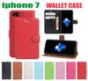 Buy Wallet Cover iphone 7 Case 6S 6PLUS Samsung Galaxy S7 S7edge Huawei P9 Card Slots Stand Magnet Flip