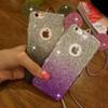 Buy 3D Mickey Mouse Ear Phone cases iPhone 6s 6 Plus 5s iphone6 Rhinestone Ears Soft TPU Cell Case Lanyard