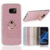 Buy Glitter Powder Soft TPU Shell Metal Stand Back Case Cover Samsung Galaxy S6 S7 Edge A310 A510 A710 G530 Note 4 5 MOQ:1
