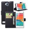Buy Lichi PU Leather Wallet Case ZTE BLADE G LUX V830W Kis 3 Max Protective Stand Card Slot Cellphone Cover