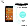 Buy DHL 2.5D 9H Tempered Glass protector film FOR SONY Xperia Z4 mini Explosion Proof Protective Screen lcd