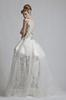 Buy Serious Honorable Sweep Train Ball Gown Wedding Dresses Gold Applique Lace Tulle