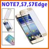 Buy Samsung Note7 Galaxy Note 7 S7 Edge S6 Full Coverage 3D Curved Tempered Glass Screen Protector 0.26 mm retail box