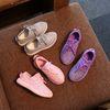 Buy Children Athletic Shoes Child Fashion Footwear Kids 2016 Summer Sneakers Korean Boys Girls Sports Lovekiss C26047