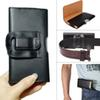 Buy Pouch Waist Bag Phone case Magnetic Snap Closure Universal Mobile Belt Holster Clip PU Leather Cover