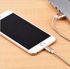 Buy IPhone 5 5s se Micro USB Cable 3.0 Sync Data Charging Charger adapter 6/6s 7 plus HTC