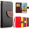 Buy Luxury Retro Leather Case Lenovo 5000 Phone Bag Card Holder Silicon Wallet Flip Back Cover A5000