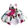 Buy Girls Party Dresses Kids Flower Clothes Children Princess Clothing Dress 1-6Y