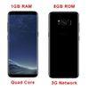 Buy Goophone s8 Edge 1GB Ram 8GB Rom Quad Core Cellpohones Mtk6582 3G Network Metal Frame S8 Smart Phone vs S7