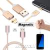 Magnetic Charging Cable Micro USB Charging Cable Nylon Braided High Speed USB Charger 3.3ft 1M Android Samsung Phone