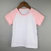 Buy pink cute girls tee shirts baby sister raglan clothes skinny cotton holiday 95% 5% spandex kids tops toddle clothing
