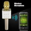Buy Mini Wireless Microphone Q7 Home ktv karaoke player handheld bluetooth speaker stereo Support USB Stick iphone IOS Android Smartphone music