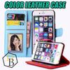 Buy Iphone 7 PU leather wallet case 5s 6 6plus phonecase Cover Pouch Sumsung galaxy s6 edge s5 note4 note3