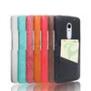 Buy ultra slim cellphone cover Lenovo X3 shockproof PU+PC case credit card holder