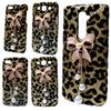 Buy 3D Bling Gold Leopard Pearls Rhinestones Bow Hard Back Case Cover iPhone 5 5S 6 6S Plus LG G2 G3 G5 K7 G Stylo G4 Stylus Note