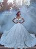 Buy Luxury 2017 Lace Wedding Dresses Shoulder Backless Vintage Line Bridal Gown Gowns Robe Cathedral Train Custom Made