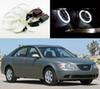 Buy Hyundai Sonata NF Transform 2008 2009 2010 Excellent Ultra bright illumination CCFL Angel Eyes kit Halo Ring angel eyes
