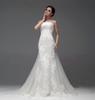 Buy Elegant Dusty Blue Bridesmaid Dresses 2016 Illusion Bateau Neckline Pleats Bodice Line Floor Length Tulle Evening