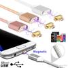 2.4A Micro USB Magnetic Charging Metal PC Cable Charger Android Cell Phone Type-C Micro USB Android Iphone
