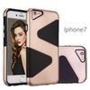 Buy Luxury Case iPhone 7 7Plus Samsung Galaxy S7 S7edge S6 S5 TPU+PC 2in1 Anti-fall Soft Back Cover