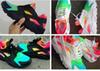 Buy 2017 new color rainbow red white black breathable huarache shoes men women chaussure huarche femme hurache homme running