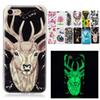 Buy Night Light Lumious Noctilucent Soft Tpu Skin Case Cover iPhone 6 7 plus Samsung S6 S7 edge J7 A510 Flower Deer