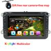 Buy 8 inch Android 5.1 Car DVD VW golf 5 6 touran passat B6 sharan jetta caddy transporter t5 polo tiguan gps radio