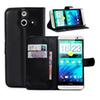 Buy HTC ONE E8 Leather Phone Case Flip Cover Stand Wallet Bag Card Holder