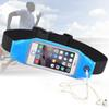 Buy Reflective Waterproof Running Sport Waist Belt Pouch elastic adjustable Band Breathable Mobile phone Bag iPhone 5 6 6plus s4 s5 s6