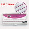 Buy Volume 3D False Eyelashes 1-1.5cm 0.07mm Thickness Hair Mink Strip Individual Extensions Party makeup