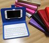 Buy Flip Leather Case Stand Bluetooth Keyboard Phone Bags Apple iPhone 6 6S 5 5s Cellphone Cover HTC Huawei Xiaomi OPPO Vivo