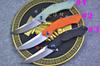Buy 3 Style Classic Flipper Folding Knife D2 58HRC Satin Blade EDC Pocket Xmas Gift Retail paper box package