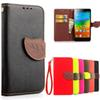 Buy Lenovo K3 Note Case K50-T5 K50 k50-t3s Silicone + Leather Wallet A7000 7000 K3note Flip Back Cover Card Holder