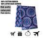 Buy fabric vb Cotton Indian elephant printed fabrics flower cloting fabric,Handmade , professional retail