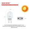 Buy Top USB Wall Charger Dual EU US Plug Adapter 2 Port Travel AC Phone Oneplus Lenovo Samsung Iphone